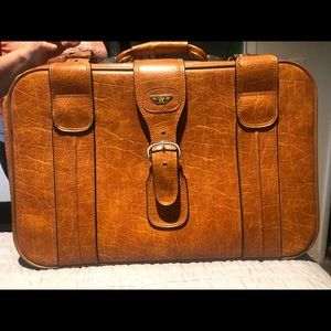 Handbags - Vintage Travel Suitcase